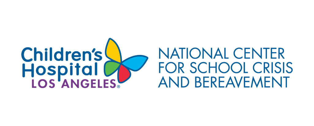 Logo: Children's Hospital Los Angeles - National Center for School Crisis and Bereavement